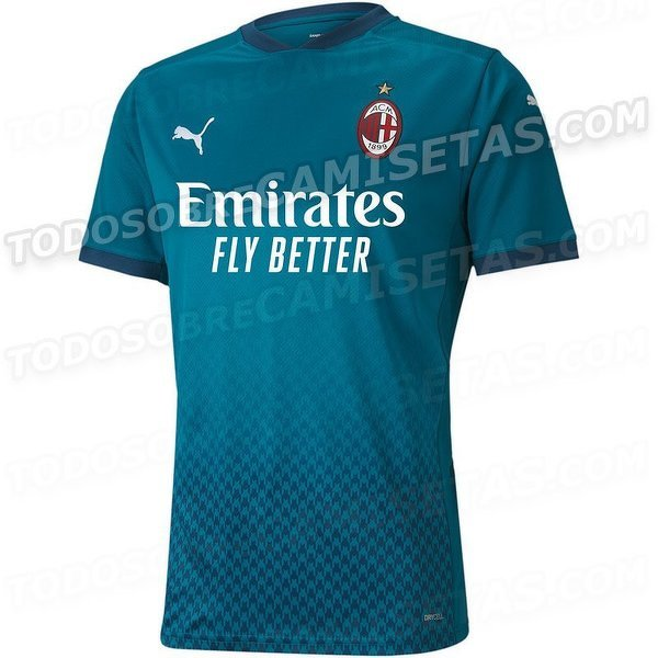 Trzeci komplet strojów Milanu na sezon 2020/21