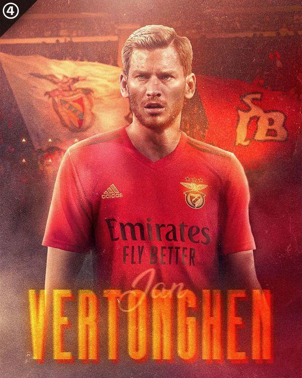 Jan Verthongen zostanie piłkarzem Benfiki