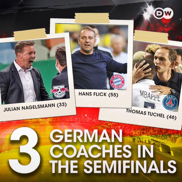 Niemiecka myśl szkoleniowa rządzi w Lidze Mistrzów