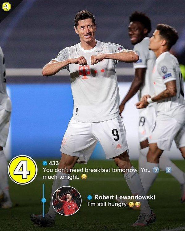 Lewandowski wciąż jest głodny