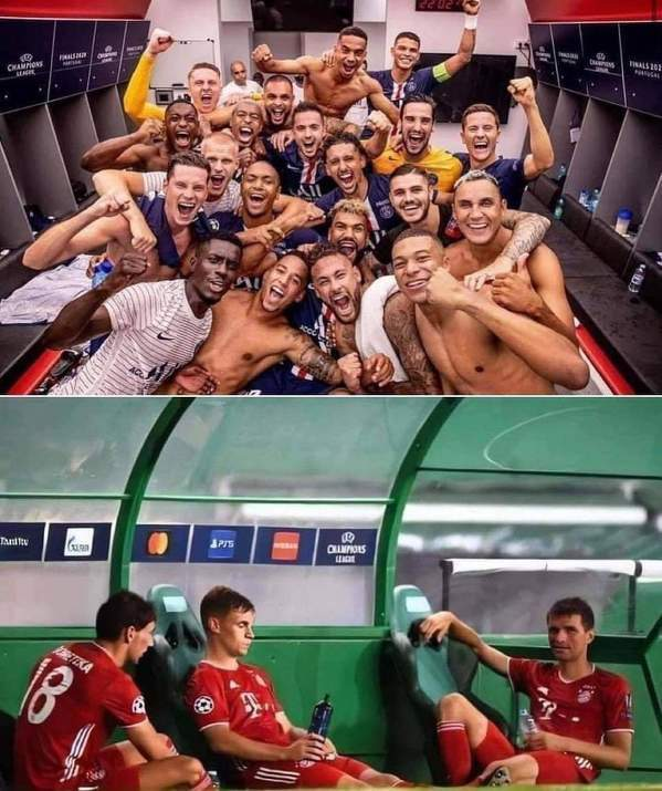 PSG po awansie do finału vs Bayern po awansie do finału