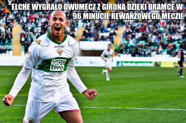 Elche wraca do La Liga!