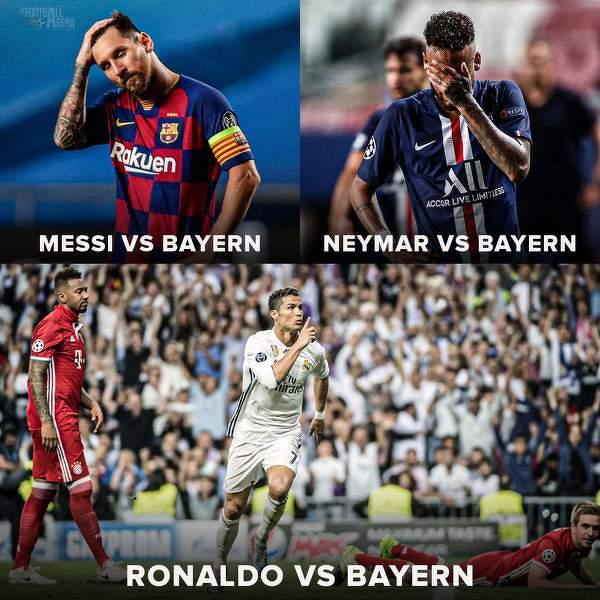 Ronaldo poradził sobie z Bayernem