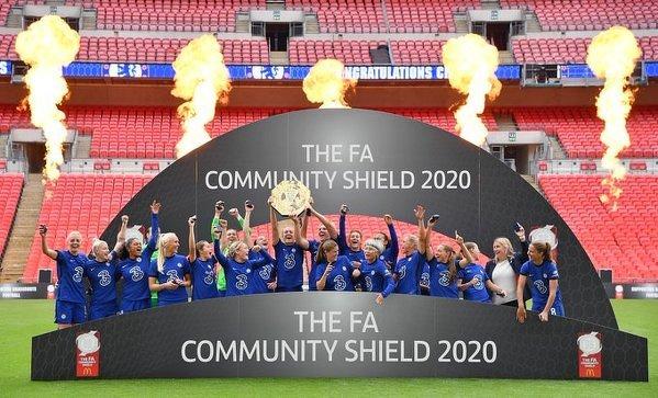 Kobiety z Chelsea wygrywają Tarczę Wspólnoty 2020