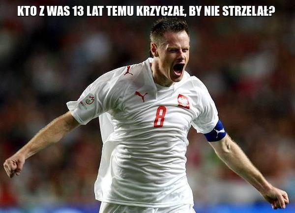 8 września 2007 roku Krzynówek dał Polsce remis w wyjazdowym meczu z Portugalią