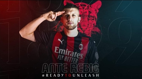 Ante Rebic oficjalnie wykupiony przez Milan z Eintrachtu. Napastnik podpisał 5-letni kontrakt