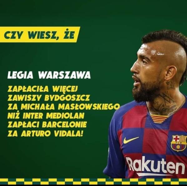 Ciekawostka o transferze Vidala