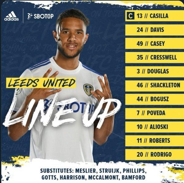 Mateusz Bogusz w wyjściowym składzie Leeds na pucharowy mecz z Hull