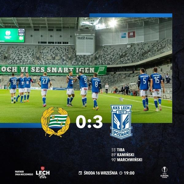 Lech Poznań w kolejnej rundzie Ligi Europy