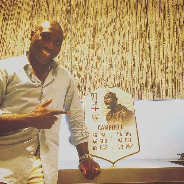Legenda angielskiej piłki Sol Campbell kończy dziś 46 lat