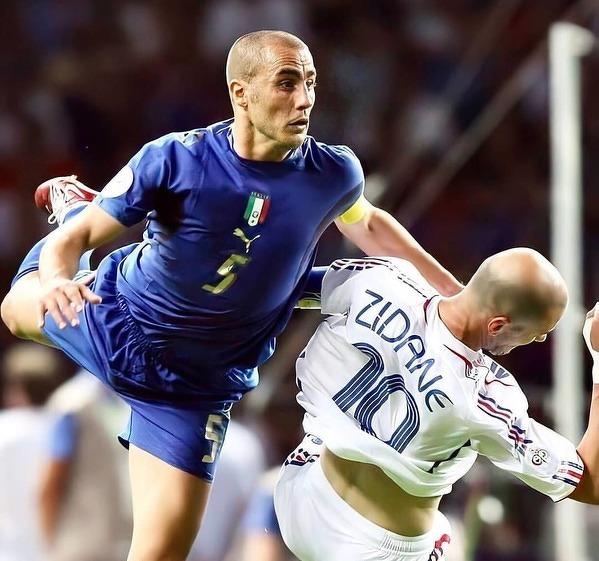 Z Cannavaro nie poszło tak łatwo jak z Materazzim