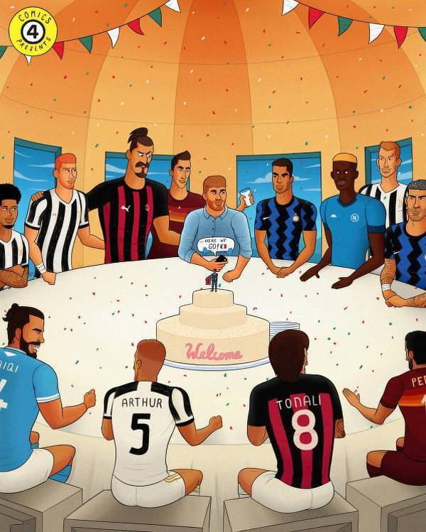 Nowe transfery w Serie A gotowe do gry!