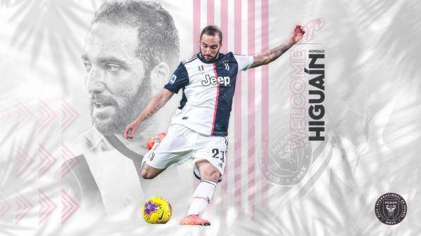 Oficjalnie: Gonzalo Higuain piłkarzem Interu Miami