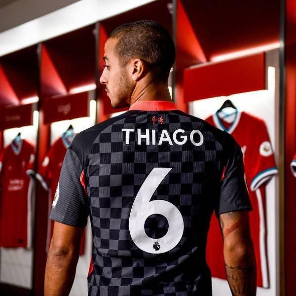 Numer Thiago w Liverpoolu