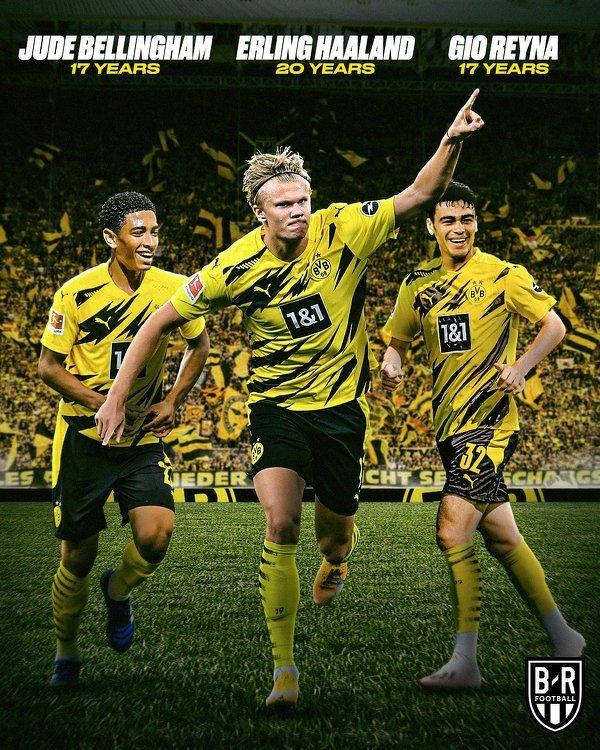 Młode wilki poprowadziły dzisiaj Borussię Dortmund do zwycięstwa