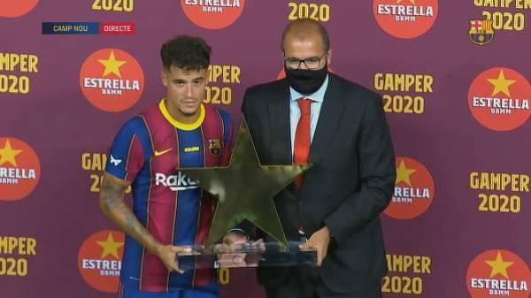 Coutinho został piłkarzem meczu z Elche
