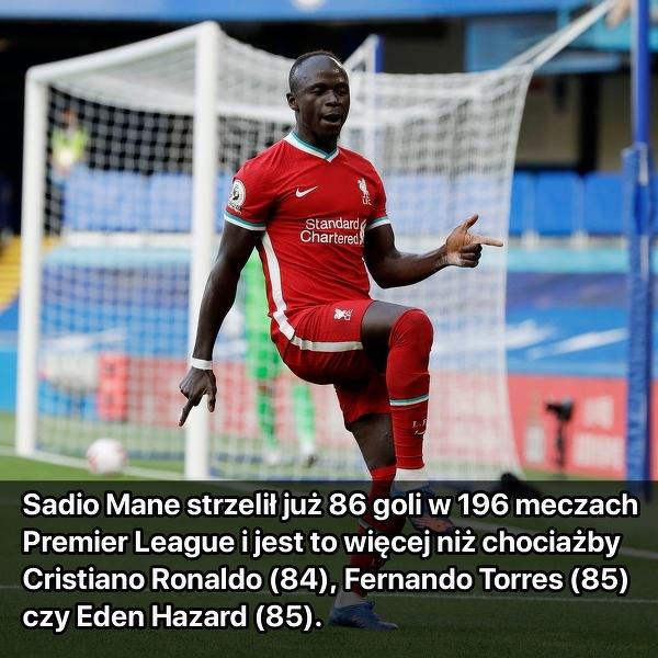 Mane lepszy od Cristiano Ronaldo
