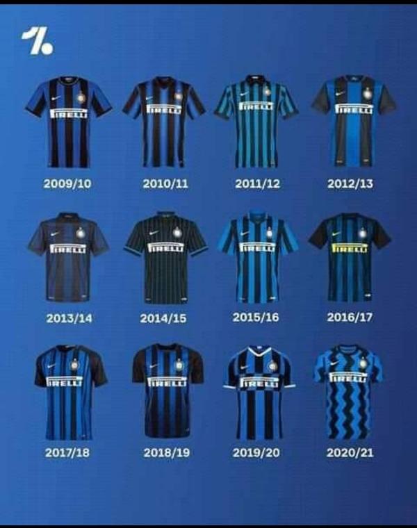 Koszulki interu od 2009/2010