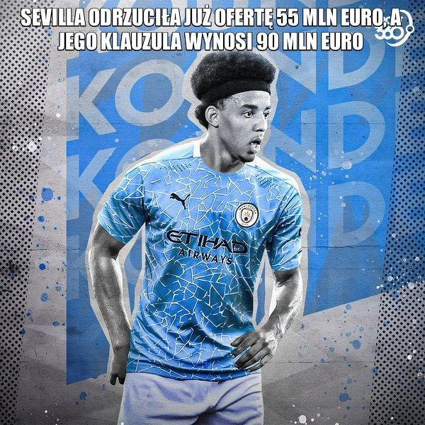 Man City skupiło się na podpisaniu kontraktu z obrońcą Sewilli, Julesem Kounde