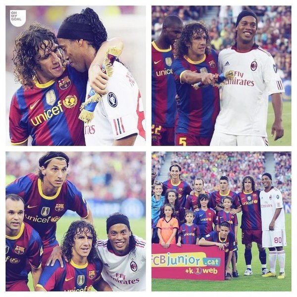 Ronaldinho wszędzie potrafił się odnaleźć