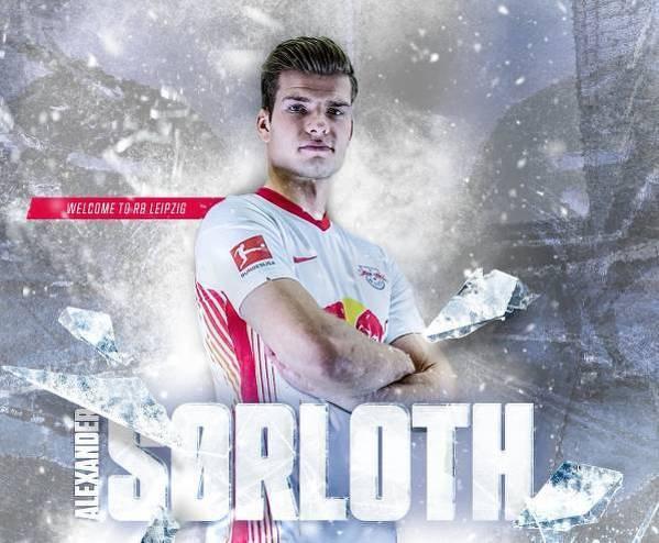 Alexander Sorloth piłkarzem RB Lipsk