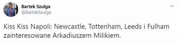 4 kluby z Premier League w grze o Milika