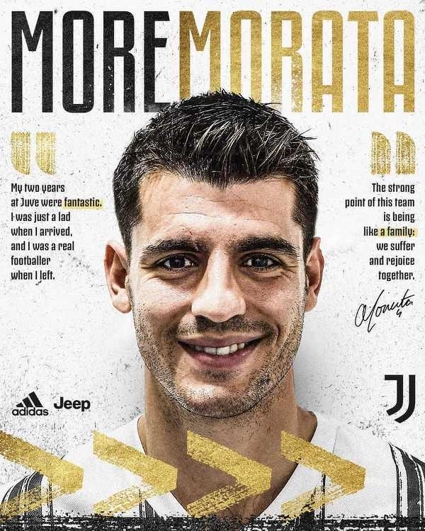Oficjalnie: Alvaro Morata wypożyczony z Atletico do Juventusu
