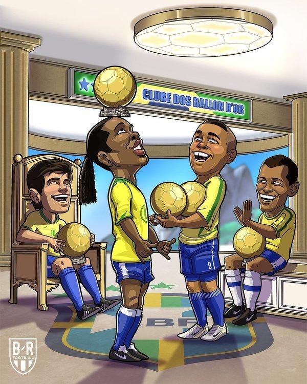 Brazylijskie Złote Piłki