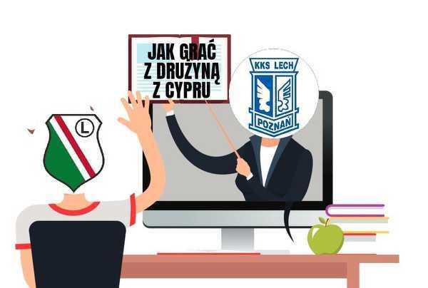 Legia powinna się uczyć od Lecha jak grać z drużyną z Cypru