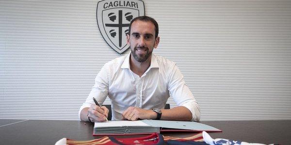 Diego Godin piłkarzem Cagliari. Urugwajczyk podpisał kontrakt do 2023 roku
