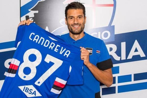 Antonio Candreva nowym piłkarzem Sampdorii