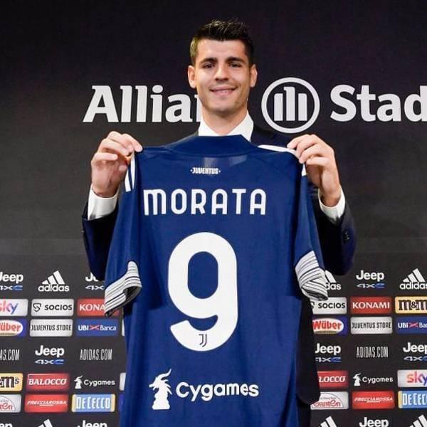 """Morata zagra w Juventusie z numerem """"9"""""""