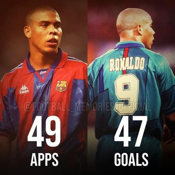 Jedyny sezon Ronaldo w Barcelonie ale za to jaki