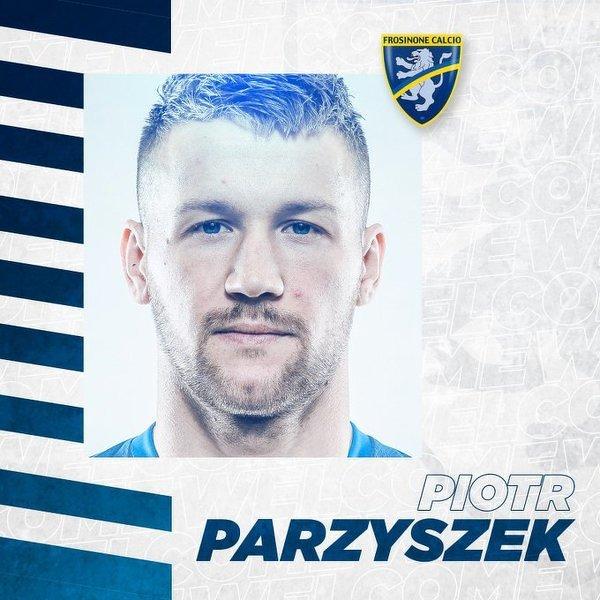 Oficjalnie: Piotr Parzyszek w Frosinone Calcio. Piłkarz związał się z klubem trzyletnim kontraktem