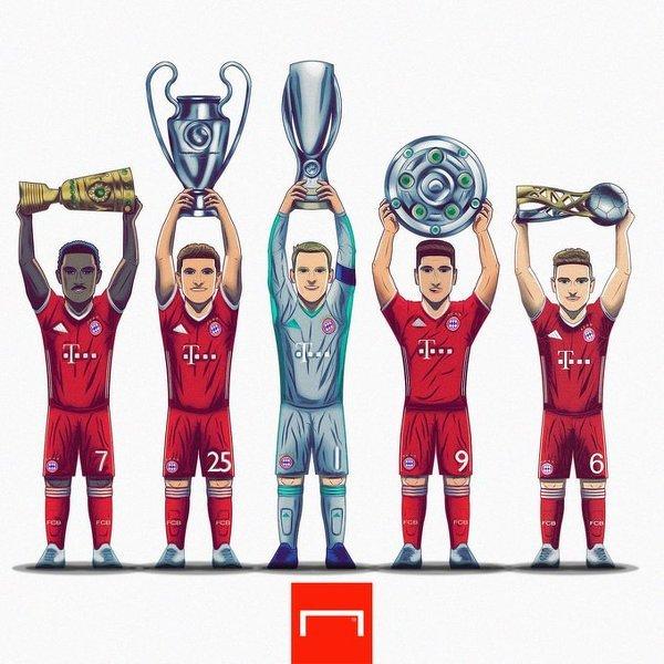 5 trofeum Bayernu w tym roku
