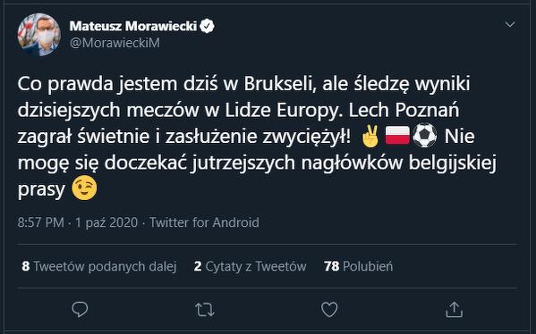 Nie tylko Lech walczy o Polskę w Belgii