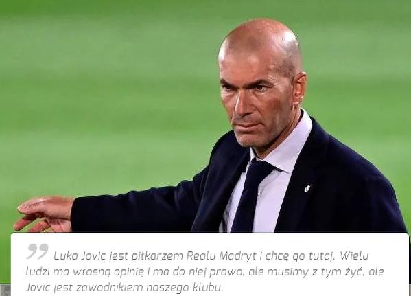 Zidane liczy na Jovica? Czy przetrzyma go tylko do zimowego okienka transferowego?