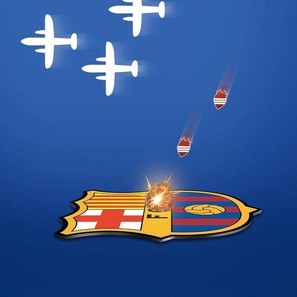 Barcelona została zbombardowana przez Getafe