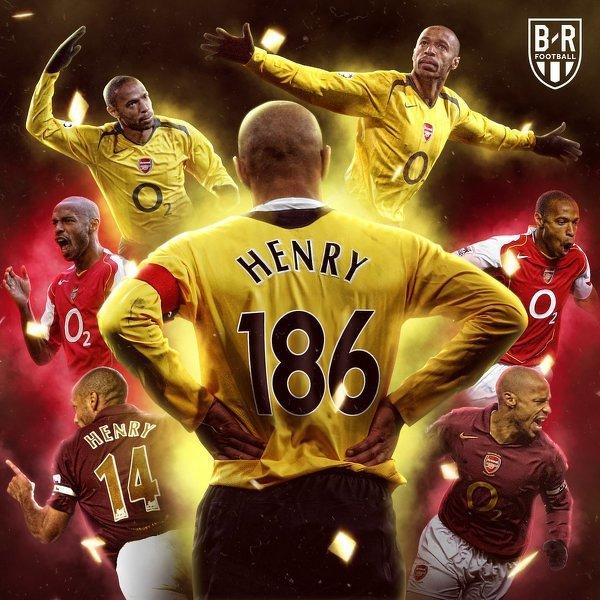 Dokładnie 15 lat temu Thierry Henry został najlepszym strzelcem w historii Arsenalu