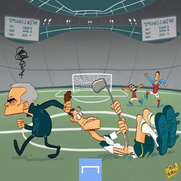 Nieudany powtórny debiut Bale w Tottenhamie