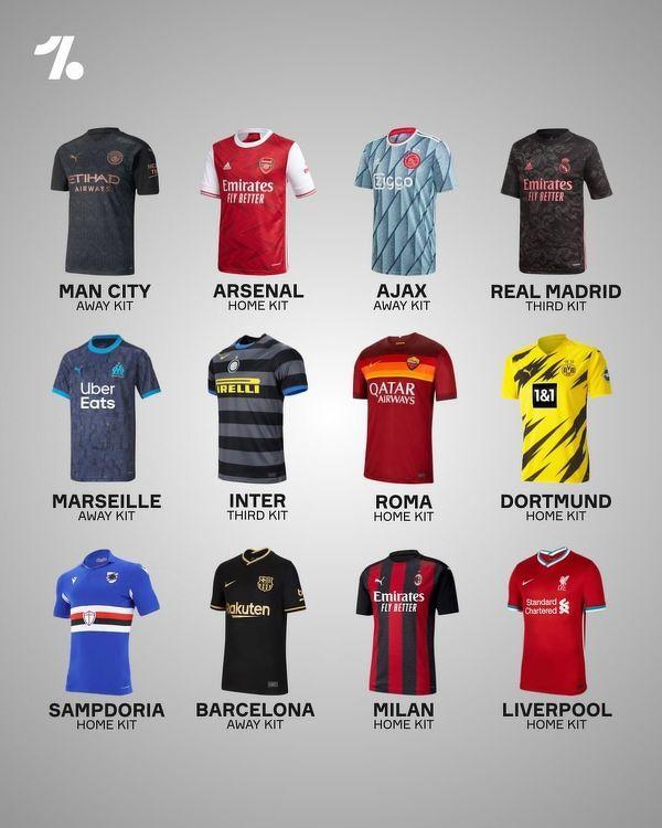 Najładniejsze koszulki w sezonie 2020/21?