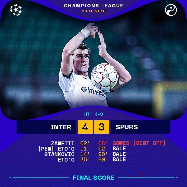 Dokładnie 10 lat temu Gareth Bale pokazał się światu