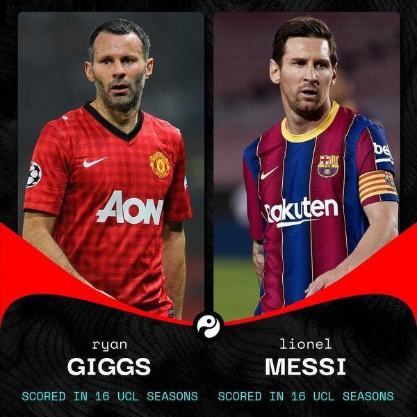Messi dołączył do Giggsa