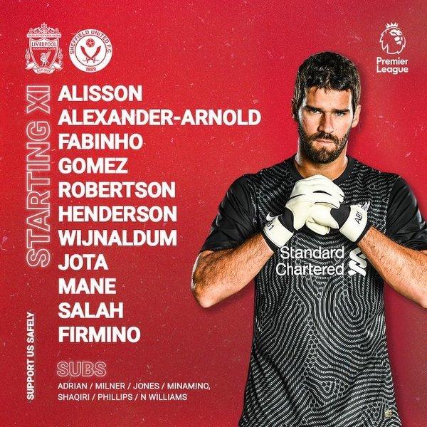 Alisson wraca do pierwszej jedenastki Liverpoolu