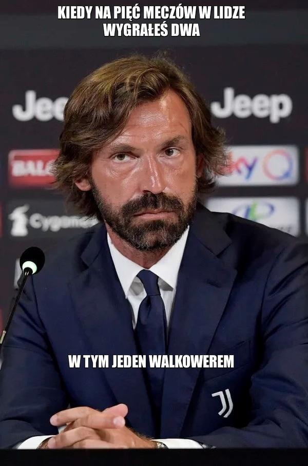 Niezbyt dobry początek Pirlo w Juventusie