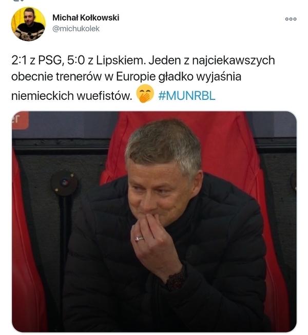 Solskjaer pokazał niemieckim trenerom lekcję futbolu
