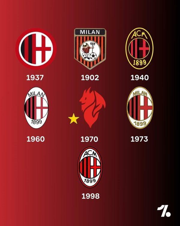Tak zmieniało się logo Milanu. Które wygląda najlepiej?
