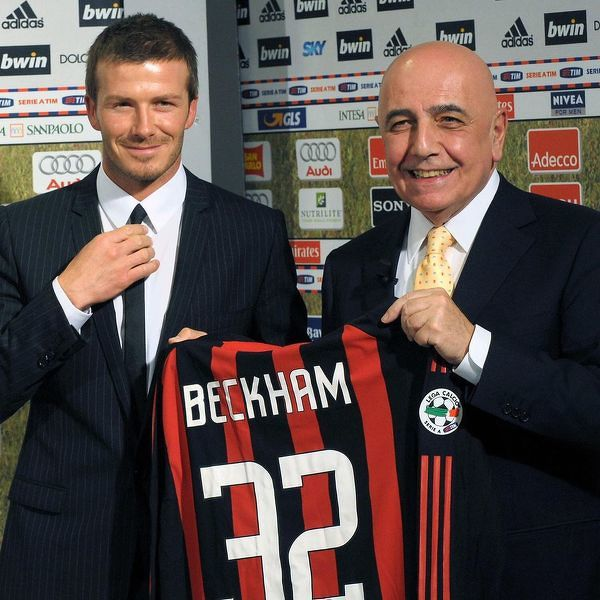12 lat temu David Beckham został piłkarzem AC Milan
