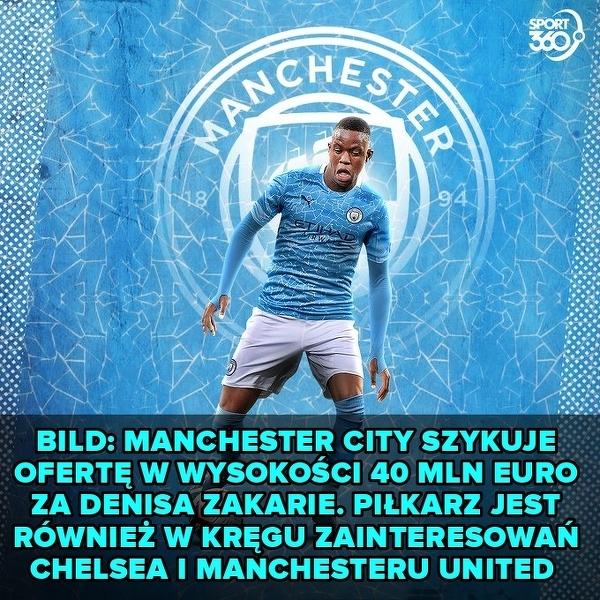 Manchester City chce piłkarza Borussii Moenchengladbach
