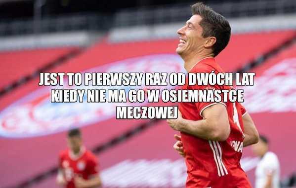 Robert Lewandowski nie został powołany na dzisiejszy mecz z FC Koln